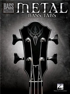 Metal Bass Tabs Books | Bass Guitar