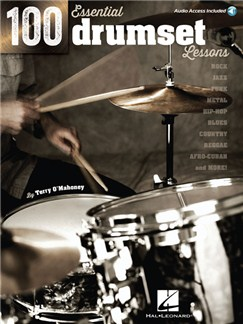 100 Essential Drumset Lessons (Book/Online Audio) Books and Digital Audio | Drums