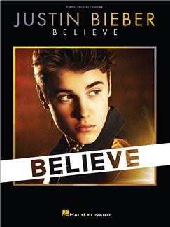 Justin Bieber: Believe - PVG Livre | Piano, Chant et Guitare