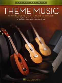 Ukulele Ensemble: Theme Music Books | Ukulele