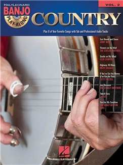 Banjo Play-Along Volume 2: Country Books and CDs | Banjo, Banjo Tab