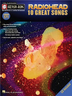Jazz Play-Along Volume 171: Radiohead - 10 Great Songs Books | B Flat Instruments, C Instruments, E Flat Instruments