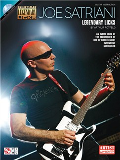 Joe Satriani: Legendary Licks CD et Livre | Guitare