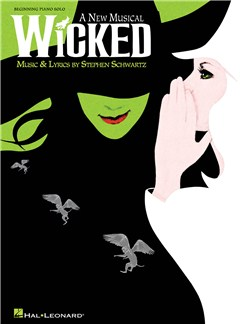 Stephen Schwartz: Wicked - Beginning Piano Solo Books | Piano
