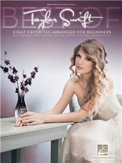 Taylor Swift: Beginning Piano Solo Songbook Books | Piano