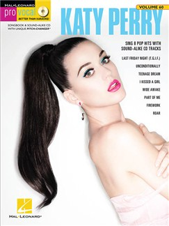 Pro Vocal Women's Edition Volume 60: Katy Perry (Book/CD) Books and CDs | Voice