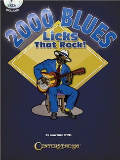 2000 Blues Licks That Rock! Books and CDs | Guitar Tab, Guitar