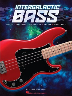 Carlo Mombelli: Intergalactic Bass Books | Bass Guitar
