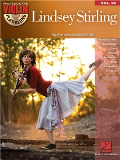 Violin Play-Along Volume 35: Lindsey Stirling Books and CDs | Violin