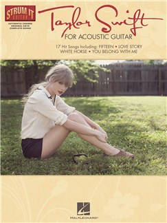 Strum It Guitar: Taylor Swift Books | Melody Line, Lyrics & Chords