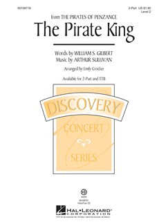 The Pirate King (From Pirates Of Penaznce) Books | TTBB, Piano Accompaniment