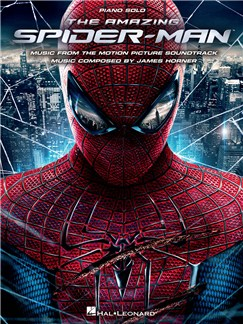 James Horner: The Amazing Spider-Man - Piano Solo Books | Piano