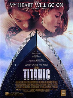 James Horner/Will Jennings: My Heart Will Go On - Love Theme From Titanic (Easy Piano) Books | Piano