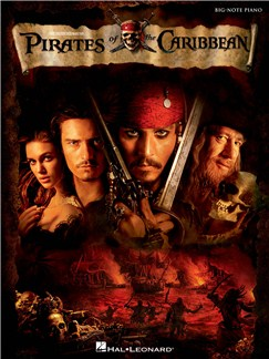 Pirates Of The Caribbean - Big Note Songbook Books | Piano