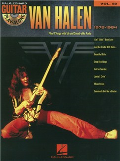 Guitar Play-Along Volume 50: Van Halen 1978-1984 (Book/CD) Books and CDs | Guitar