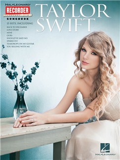 Taylor Swift: Recorder Songbook Books | Recorder