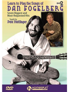 Pete Huttlinger: Learn To Play The Songs Of Dan Fogelberg - DVD 2 DVDs / Videos | Guitar