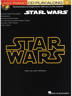Easy Piano CD Play-Along Volume 31: Star Wars Books and CDs | Piano