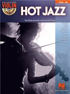 Violin Play-Along Volume 36: Hot Jazz Books | Violin