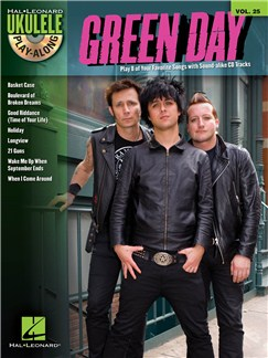 Ukulele Play-Along Volume 25: Green Day Books and CDs | Ukulele