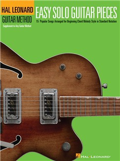Hal Leonard Guitar Method: Easy Solo Guitar Pieces Books | Guitar