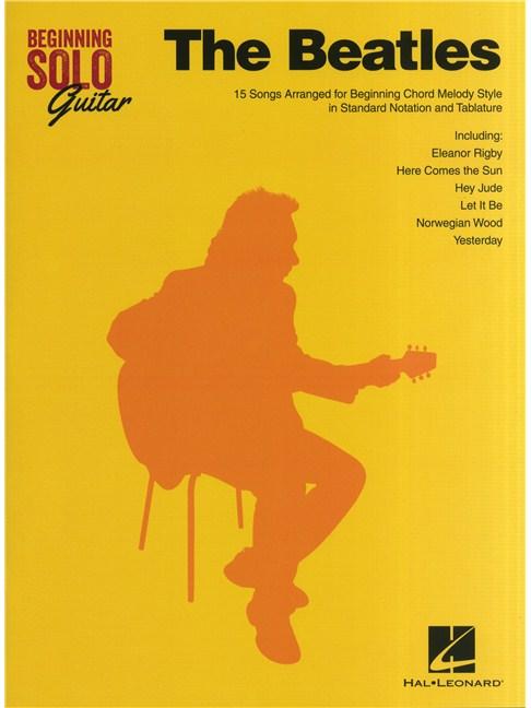 Beginning Solo Guitar: The Beatles - Guitar Sheet Music - Sheet ...