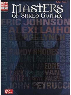 Masters Of Shred Guitar Books | Guitar Tab, Voice