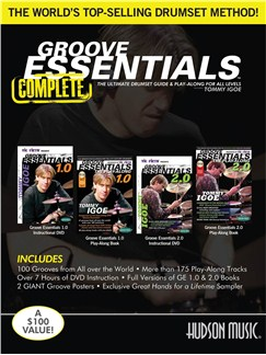 Tommy Igoe: Groove Essentials 1.0/2.0 Complete Books, CDs and DVDs / Videos | Drums