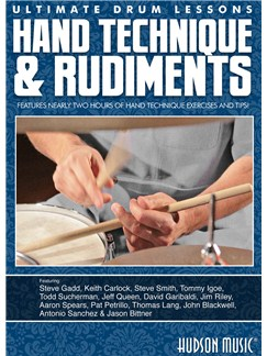 Ultimate Drum Lessons: Hand Technique & Rudiments DVDs / Videos | Drums