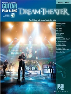 Guitar Play-Along Vol.167: Dream Theater (Book/Online Audio) Books | Guitar Tab