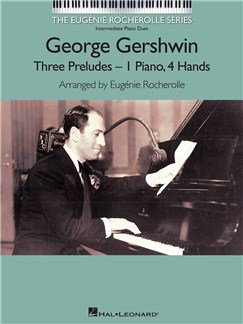 George Gershwin: Three Preludes Books | Piano Duet