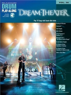 Drum Play-Along Volume 30: Dream Theater (Book/Online Audio) Books | Drums