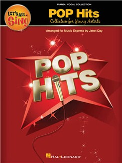 Let's All Sing Pop Hits - Collection for Young Voices (Performance/Accompaniment CD) CDs | Voice