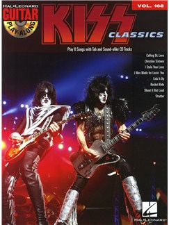 Guitar Play-Along Volume 168: Kiss Books and CDs | Guitar