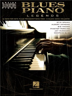 Artist Transcriptions: Blues Piano Legends Books | Piano