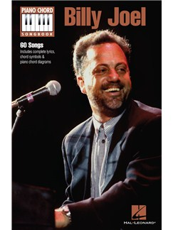 Piano Chord Songbook: Billy Joel Books | Lyrics & Piano Chords