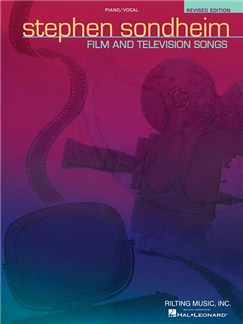 Stephen Sondheim: Film And Television Songs - Revised Edition (PVG) Books | Piano, Vocal & Guitar