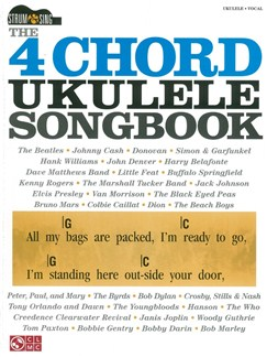 The 4 Chord Ukulele Songbook Books | Lyrics & Chords
