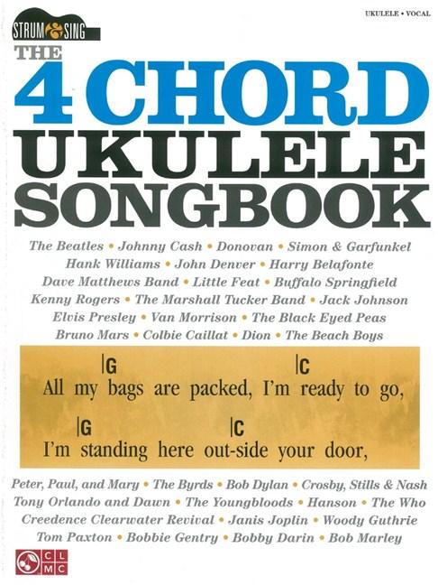 The 4 Chord Ukulele Songbook Lyrics Chords Sheet Music Sheet