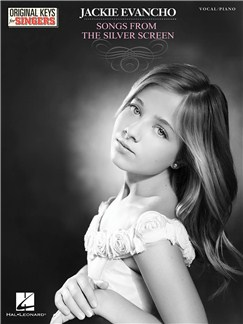 Jackie Evancho: Songs From The Silver Screen Books | Voice, Piano Accompaniment
