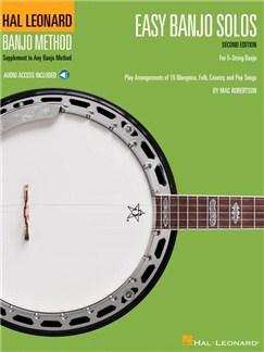 Easy Banjo Solos For 5-String Banjo – Second Edition (Book/Online Audio) Books and Digital Audio | Banjo, Lyrics Only