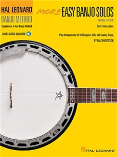 More Easy Banjo Solos: 2nd Edition - For 5-String Banjo Books and Digital Audio | Banjo