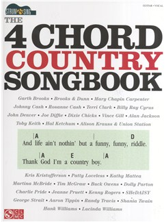 Strum & Sing: The 4 Chord Country Songbook Books | Guitar, Voice