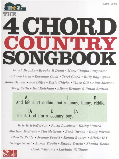 Strum & Sing: The 4 Chord Country Songbook - Guitar Sheet Music ...