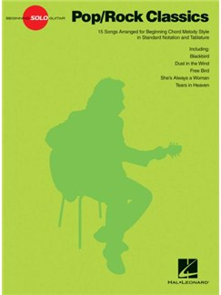 Beginning Solo Guitar: Pop/Rock Classics Books | Guitar Tab