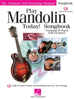 Play Mandolin Today! Songbook (Book/Online Audio) Books and Digital Audio | Mandolin