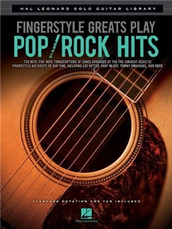 Fingerstyle Greats: Play Pop Rock Hits Books | Guitar
