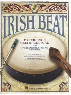 Irish Beat: Experience Celtic Culture With Instruments, Singing And More Books and CDs | Voice, Bodhran, Pennywhistle, Piano Accompaniment