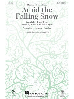 Amid The Falling Snow (SATB) Books | SATB, Piano Accompaniment