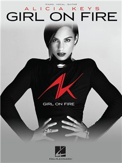 Alicia Keys : Girl On Fire Livre | Piano, Chant et Guitare
